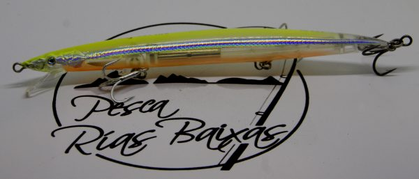 Sandeel Jerk Minnow Lemon Back