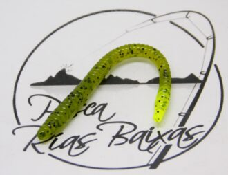Zoom Finesse Worm Watermelon Chartreuse-1
