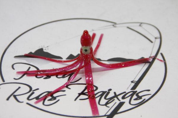 Pulpos Vinilo 6cm Rojo-1
