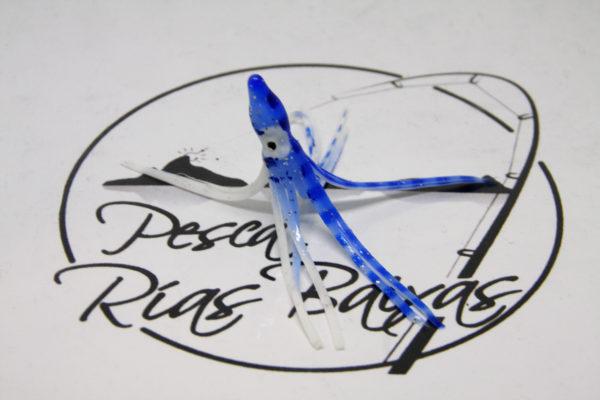 Pulpos Vinilo 6cm Azul-1